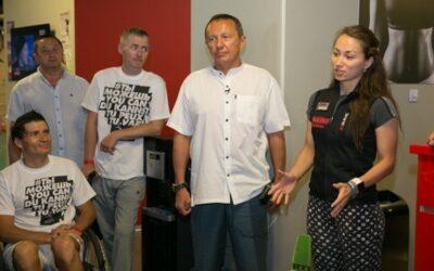 Инвалиды в Москве провели тренинг в поддержку Паралимпийской сборной России